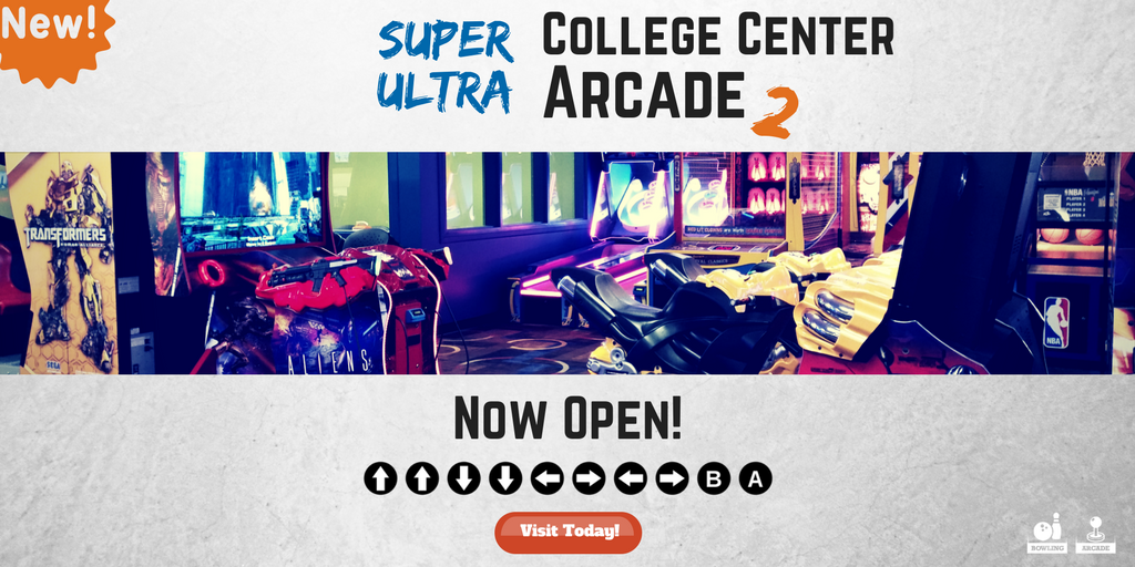 Fort Collins College Center: Arcade | Chippers Lanes